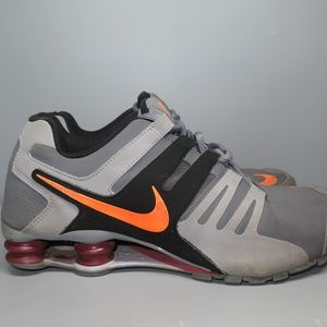Nike Shox Current Mens Shoes Size 11 Gray Black